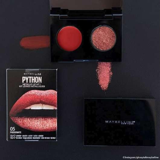 Maybelline: Neue Phyton Metallic Lip Kits