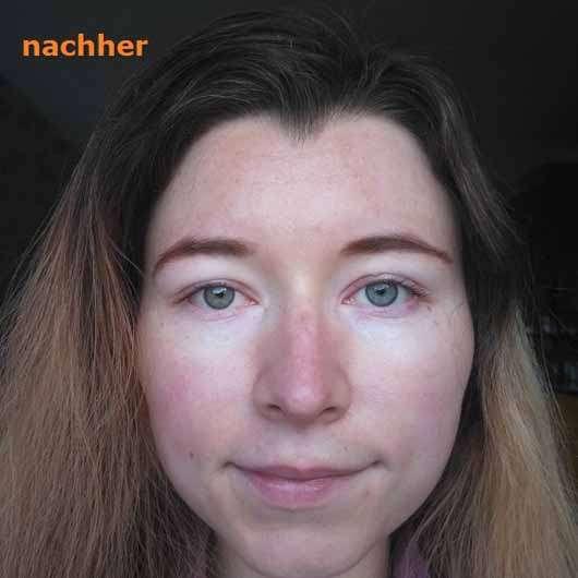 Mlle Agathe Regenerierende Nachtpflege - Hautbild nach 4 Wochen Testphase