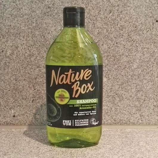 test shampoo nature box avocado l shampoo testbericht von produktedschungel. Black Bedroom Furniture Sets. Home Design Ideas