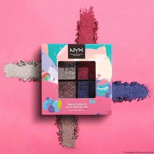 "NYX funkelt mit ""Sprinkle Town Cream"" Glitter Palette"