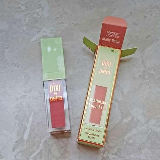 Pixi MatteLast Liquid Lip, Farbe: Matte Beige