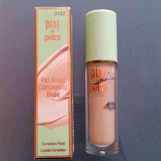 Pixi Pat Away Concealing Base, Farbe: Warm - Verpackung und Flakon