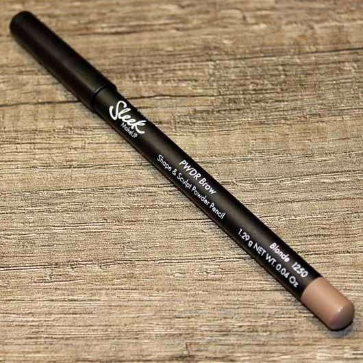 Sleek MakeUP PWDR Brow Shape & Sculpt Powder Pencil, Farbe: Blonde
