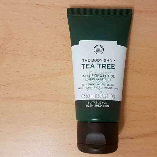 The Body Shop Tea Tree Mattifying Lotion - Tube