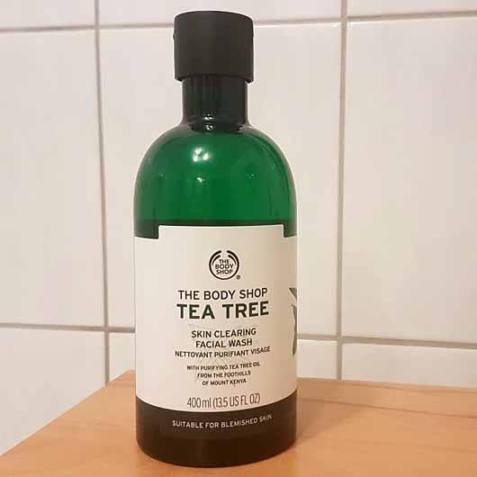The Body Shop Tea Tree Skin Clearing Facial Wash - Flasche