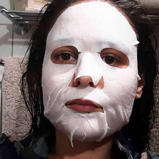 too cool for school EGG Cream Mask Hydration - Maske im Gesicht