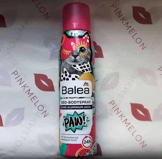 Balea Deo-Bodyspray PAW!