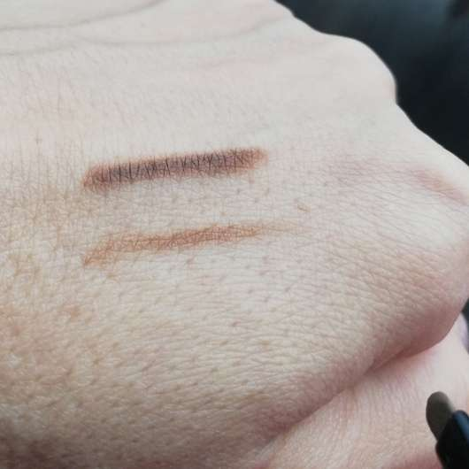 Swatches - L.O.V BROWttitude Eyebrow Designer, Farbe: 210 Honey