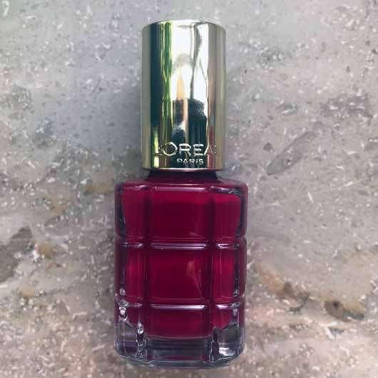L'ORÉAL PARiS Color Riche Le Vernis Mit Öl, Farbe: 552 Rubis Folies