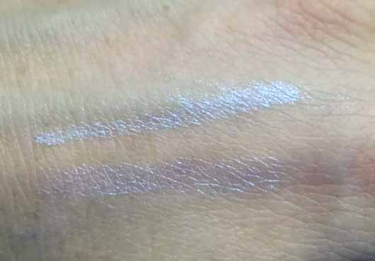 L.O.V LOVillusion Holographic Eye Pencil Waterproof, Farbe: 200 Indescent Blue - Swatches