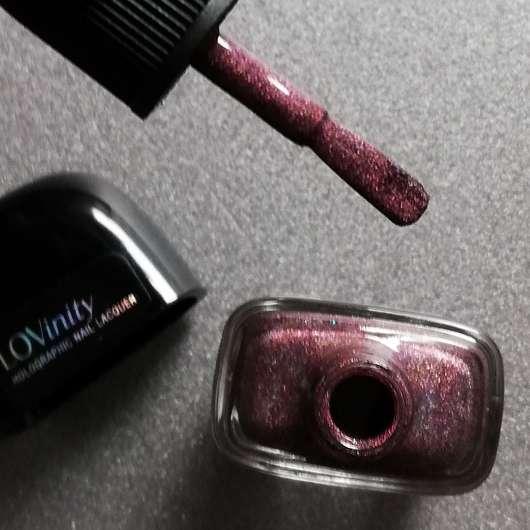 L.O.V LOVinity Holographic Nail Lacquer, Farbe: 420 Deep Illusionist - Pinsel