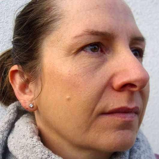 Mary Kay Blending Sponge - Gesicht geschminkt