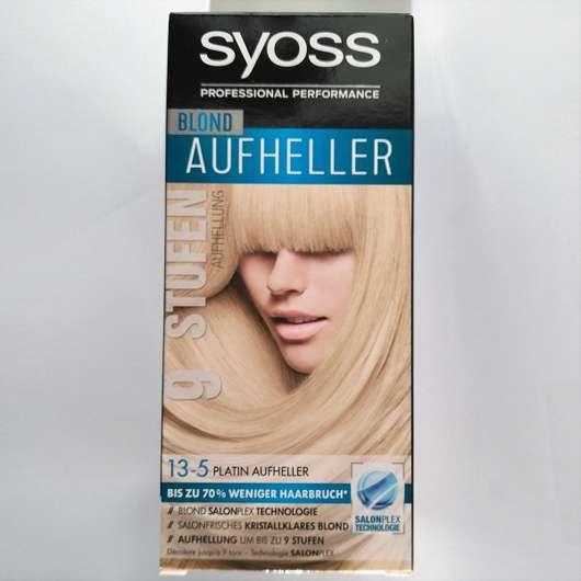 Syoss Blond Aufheller 13-5 Platin Aufheller