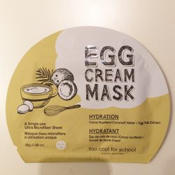 Produktbild zu too cool for school EGG Cream Mask Hydration