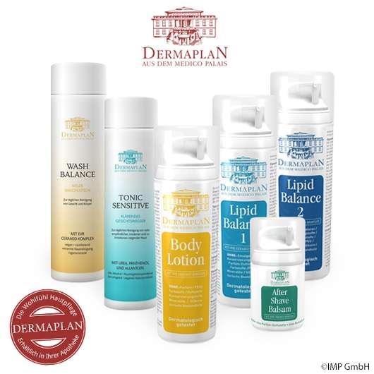 DERMAPLAN Hautpflege-Sets zu gewinnen