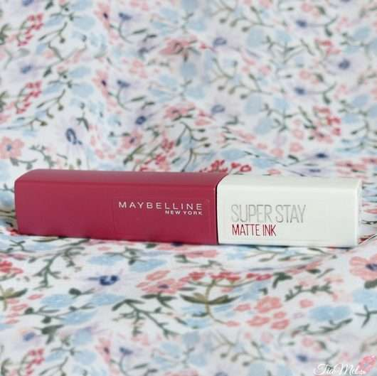 <strong>Maybelline New York</strong> Super Stay Matte Ink Lipstick - Farbe: 580 Ruler