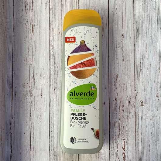 <strong>alverde Naturkosmetik</strong> Family Pflege-Dusche Bio-Mango Bio-Feige