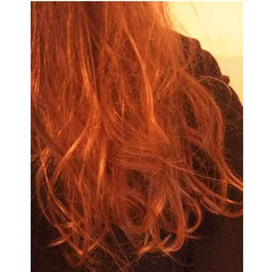 """alverde festes Shampoo """"Mandarine-Basilikum"""" - Haare vor der Anwendung"""