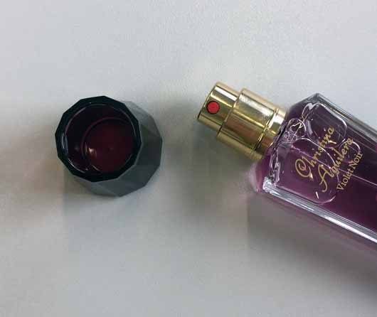 Christina Aguilera Violet Noir Eau de Parfum - Sprühkopf