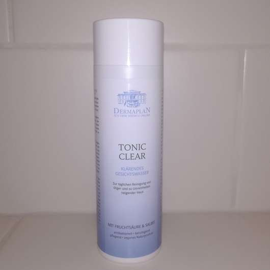 <strong>DERMAPLAN</strong> Tonic Clear