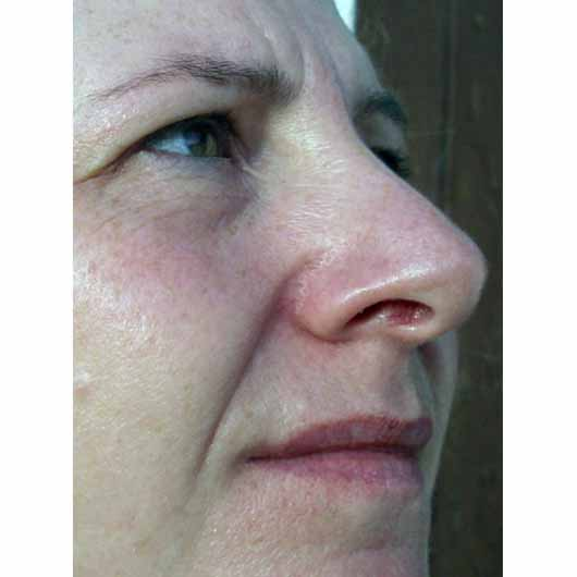 Kiehl's Ultra Facial Cream - im Gesicht