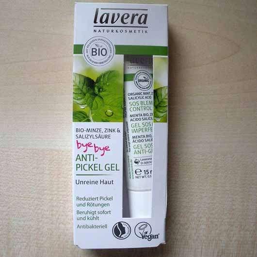 lavera Naturkosmetik Anti-Pickel Gel Bio-Minze, Zink & Salizylsäure