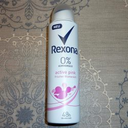 Produktbild zu Rexona Active Pink Deodorant Spray (ohne Aluminiumsalze)
