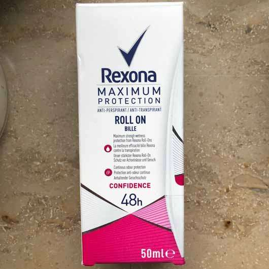 Rexona Maximum Protection Confidence Anti-Transpirant Roll-On