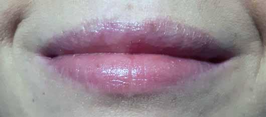 alverde Lipgloss 3D-Effekt - Lippen mit Lipgloss pur