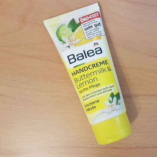 Balea Handcreme Buttermilk & Lemon