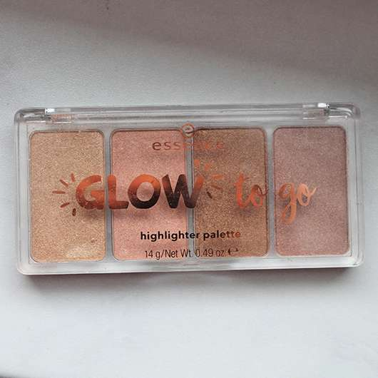 essence glow to go highlighter palette, Farbe: 10 sunkissed glow
