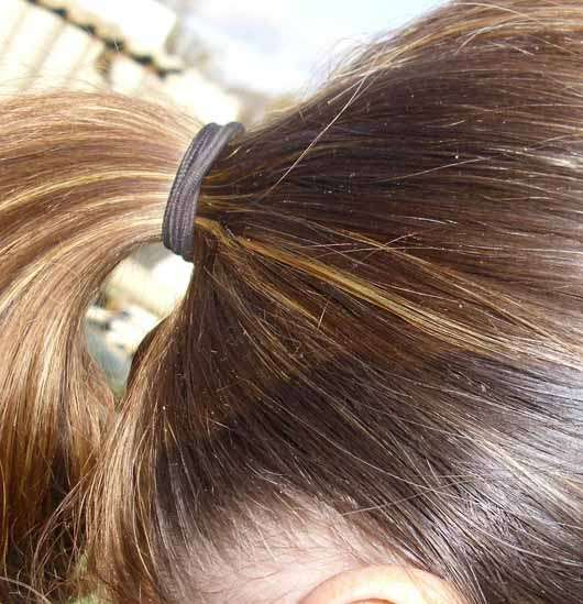 "for your Beauty Basic Haargummis ""Steffi"", Farbe: Schwarz"