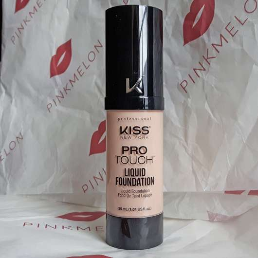 <strong>KISS Professional New York</strong> Pro Touch Liquid Foundation - Farbe: 120 Ivory