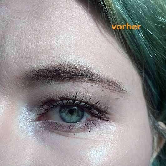PARSA BEAUTY Augenbrauen- und Gesichtshaartrimmer - Augenbraue vorher