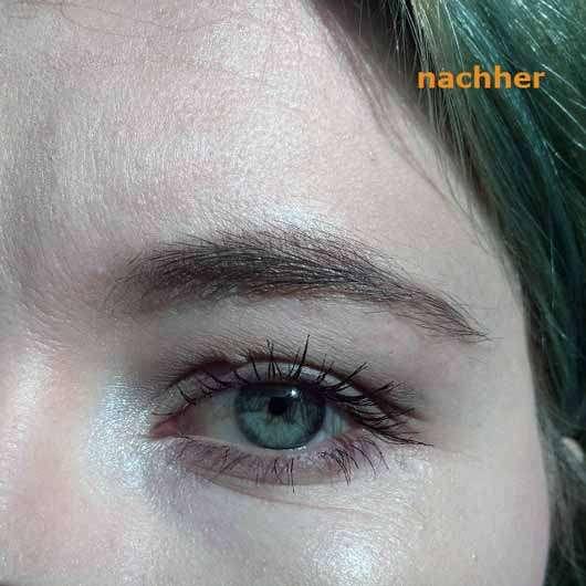 PARSA BEAUTY Augenbrauen- und Gesichtshaartrimmer - Augenbraue nachher