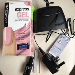 Produktbild zu SensatioNail™ Express Gel Starter Set – Farbe: Made Him Blush