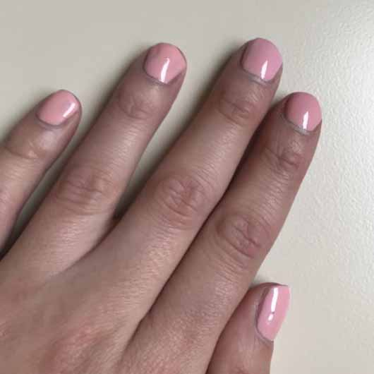 SensatioNail Express Gel Starter Set, Farbe: Made Him Blush - Nägel nach dem Aushärten