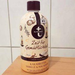 Produktbild zu t: by tetesept Zeit für Gemütlichkeit Creme-Schaumbad