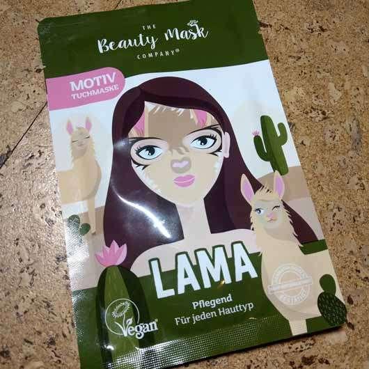"The Beauty Mask Company Motiv-Tuchmaske ""Lama"""