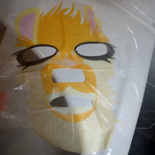 """The Beauty Mask Company Motiv-Tuchmaske """"Lama"""" - Tuchmaske"""