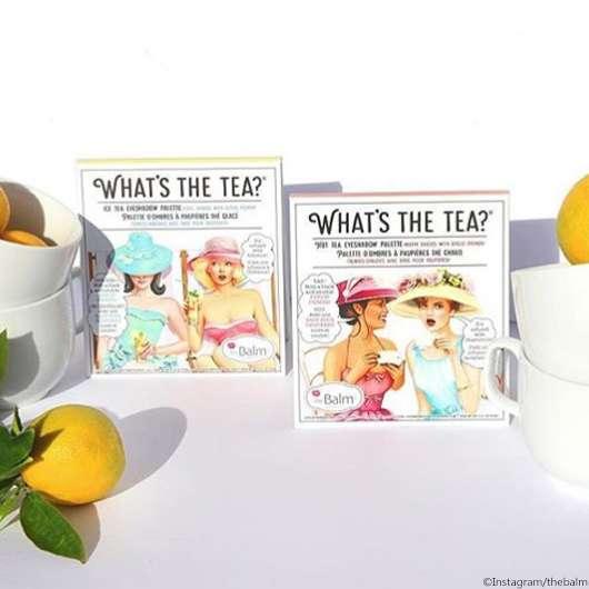 the Balm What's the Tea? Paletten
