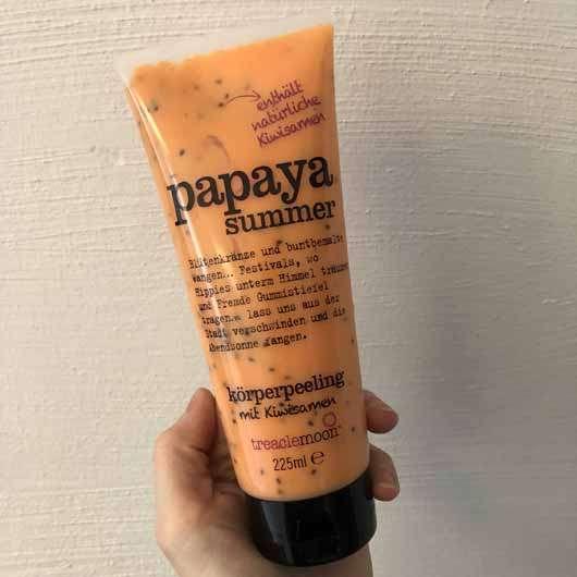 treaclemoon papaya summer Körperpeeling