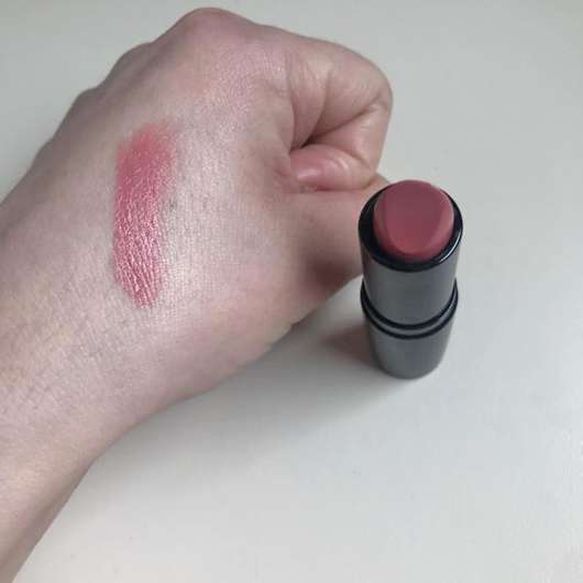 Swatch - ARTDECO Perfect Color Lipstick, Farbe: 833 lingering rose (LE)