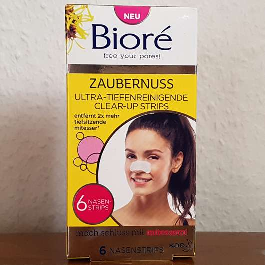 Bioré Zaubernuss Ultra-Tiefenreinigende Clear-Up-Strips