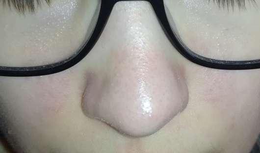 Bioré Zaubernuss Ultra-Tiefenreinigende Clear-Up-Strips - Nase nach der Anwendung