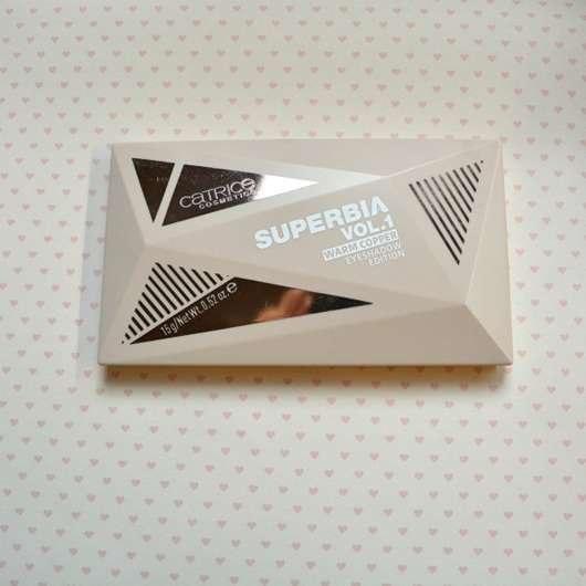 Catrice Superbia Vol. 1 Warm Eyeshadow Edition, Farbe: 010 Bronze Upon A Dream