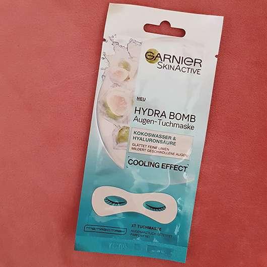 Garnier SkinActive Hydra Bomb Augen-Tuchmaske Kokoswasser & Hyaluronsäure - Sachet