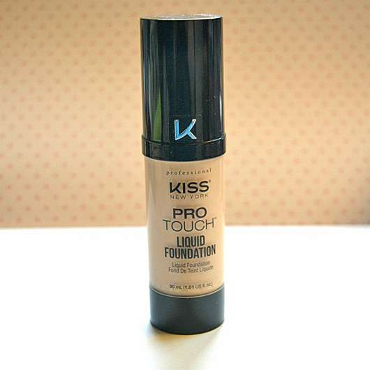 <strong>KISS Professional New York</strong> Pro Touch Liquid Foundation - Farbe: 135 Nude Beige