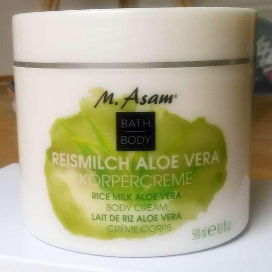 M. Asam Reismilch Aloe Vera Body Cream