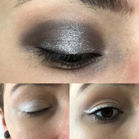 Make up Factory Pure Pigments, Farbe: 03 Gleam of Light -Drei Auftragsvarianten: Highlights auf Eyeshadow, Alleiniger Eyesdhadow und Eyeliner